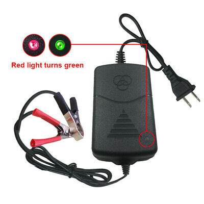 1Pc 12V Battery Charger Maintainer Amp Volt Trickle for Car Truck Motorcycle