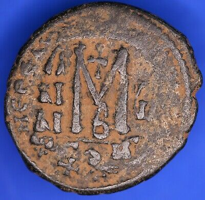 Large Byzantine Æ Coin M type 28mm *[18565]
