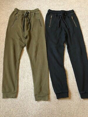 2 Pairs Of Boys Joggers Next Age 10 Years