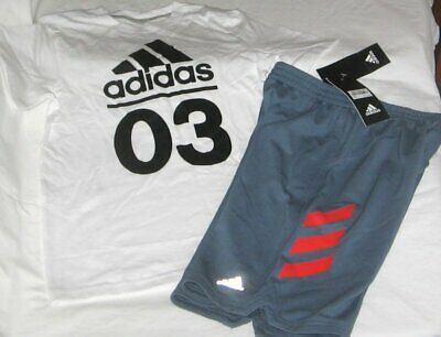 NWT Boys 6 ADIDAS 2 Pc Set Outfit Shorts and Top NEW