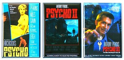 Psycho and War of the Worlds FRIDGE MAGNET movie poster double feature