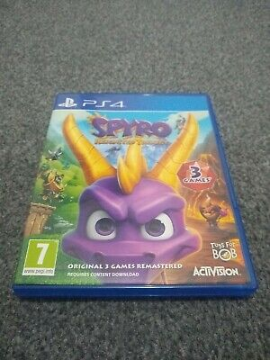 Spyro Reignited Trilogy (3 games in one!) - Playstation 4