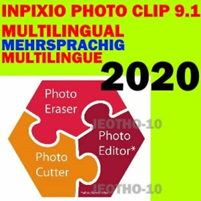 Inpixio Photo Clip 9.1v Pro⭐ Latest Full Version ⭐Photo Editor 2020⭐Multilingual
