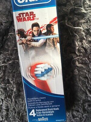 Oral B Star Wars Replacement Brush Ends Extra Soft