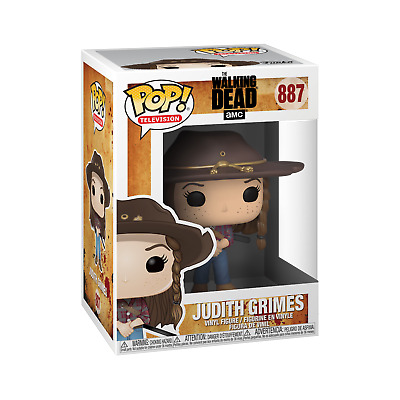 Judith Grimes 887 | Funko Pop | AMC Walking Dead | New in Box | non-displayed