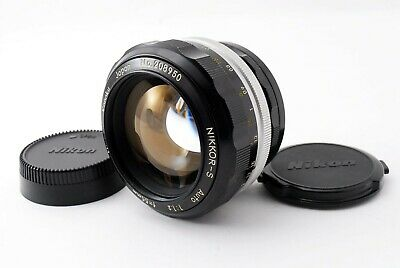 Excellent+++++ Nikon NIKKOR-S Auto 55mm f/1.2 Non Ai MF Standard Lens from Japan