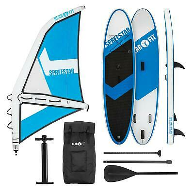 Set tabla hinchable para wind surf de remo a Vela Stand Up Paddle SUP 300x10x71