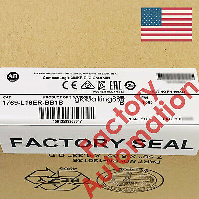 IN STOCK USA Allen Bradley 1769-L16ER-BB1B CompactLogix 384KB