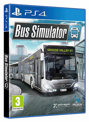 Bus Simulator (PS4)  BRAND NEW AND SEALED - IN STOCK - QUICK DISPATCH
