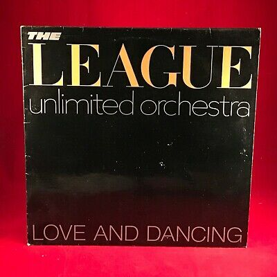 THE LEAGUE UNLIMITED ORCHESTRA Love & Dancing 1981 UK vinyl LP HUMAN EXCELLENT A