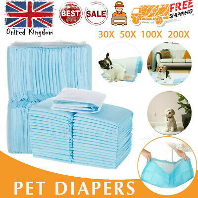 50-200 Dog Training Mat Toilet Pads PET Puppy Indoor Grass Potty Pad 60x45CM