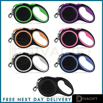 Dog Leash Retractable Extending Pet Leashes Dog Collars Walking Dog Lead Leads