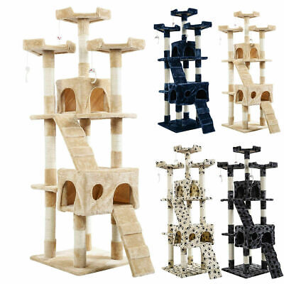 """New 66"""" Cat Tree Tower Condo Furniture Scratching Post Pet Kitty Play House *New"""
