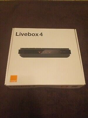 Livebox 4 Orange Modem Fibre Adsl Complet