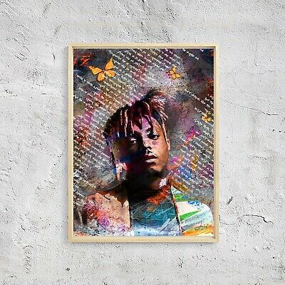 JUICE WRLD 18x24 HIP HOP RAP MUSIC RIP R&B JUICEWRLD CHICAGO LUCID DREAMS