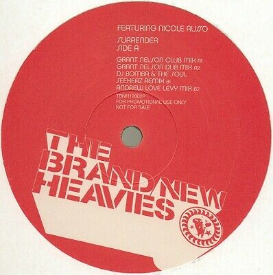 """The Brand New Heavies Featuring Nicole Russo - Surrender (12"""", Promo)"""