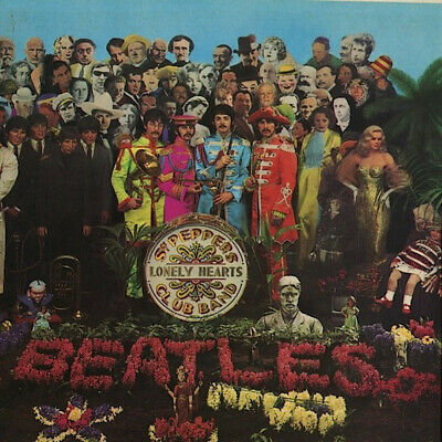 The Beatles - Sgt. Pepper's Lonely Hearts Club Band (LP, Album, Mono, Scr)