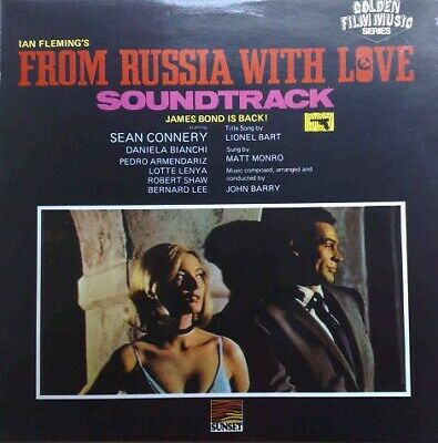 John Barry - From Russia With Love (Original Motion Picture Soundtrack) (LP, ...