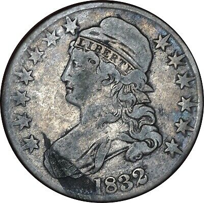 1832 Capped Bust Half Dollar Fine Condition