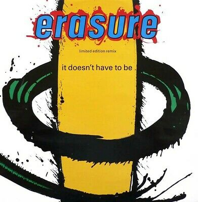 "Erasure - It Doesn't Have To Be (Limited Edition Remix) (12"", Single, Ltd)"