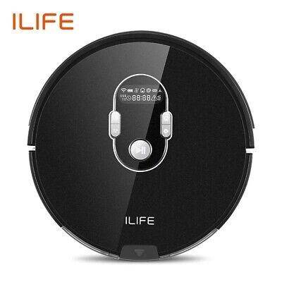 ILIFE A7 Robot Cleaner Vacuum Smart APP Remote Control for Hard Floor and...