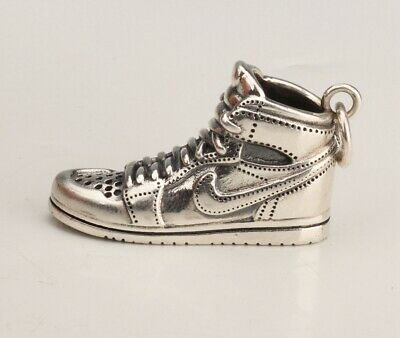 China 925 Silver Solid Silver Real Silver Pendant Shoes Handmade Mascot Gift