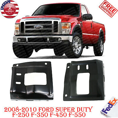 For 2008-2010 Ford F250 F350 F450 Pickup Front Bumper Mounting Plate Bracket Lh