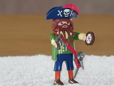 F343 playmobil capitaine pirate ref 4654 année 2006