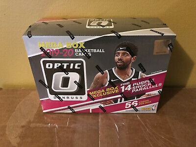 2019-20 Panini NBA Donruss Optic Basketball Trading Card MEGA Box TARGET SEALED