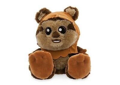 Disney Parks Little Big Foot Feet Star Wars Wicket The Ewok Plush NWT