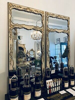 Beautiful Antique French Mirror - Pair Available