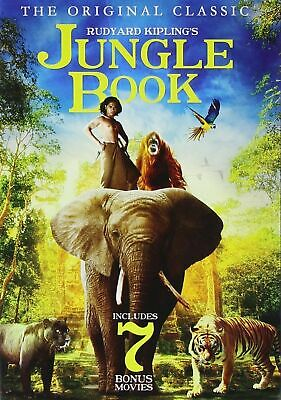 The Jungle Book: Includes 7 Bonus Movies (DVD, 2015, 2-Disc Set) FREE SHIPPING