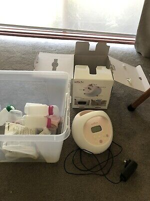 Used Spectra S2 With Bottles, Accessories And Medela Flanges