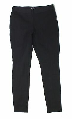 J. Crew Womens Pants Black Size 8 Pull On Mid-Rise Solid Stretch $49- 343