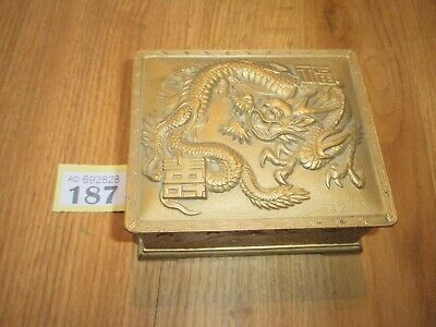 Chinese Musical Jewellery Box Dragon Design