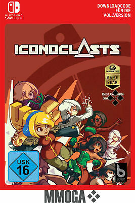 Nintendo Switch Iconoclasts Key Nintendo eShop digital download Código UE/ES