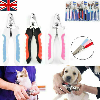 UK Pet Nail Clippers Cat Dog Rabbit Sheep Animal Claw Trimmer Grooming Scissors