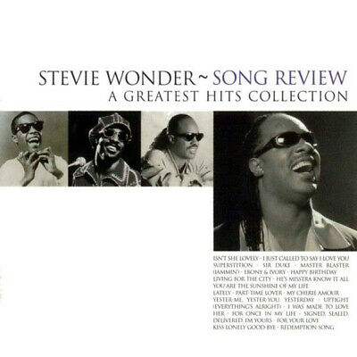 Stevie Wonder - Song Review - A Greatest Hits Collection (CD, Comp)