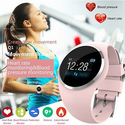 Women&Girl Waterproof Bluetooth Smart Watch Phone Mate For iPhone Android IOS