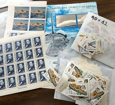Us High Value Discount Postage Stamps $1, $2, $3.20, & $4.60 Face Value $500.