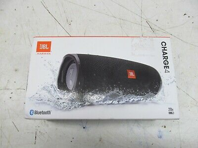 JBL - Charge 4 Portable  Wireless Bluetooth Speaker Black ( LOT 13470)