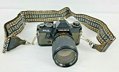 Yashica FX-D Quartz With Yashica Lens DSB 135mm 1:2.8 Made in Japan