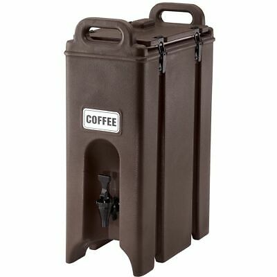 Cambro 500LCD131 Camtainer Brown 4.75 Gal. Insulated Beverage Server