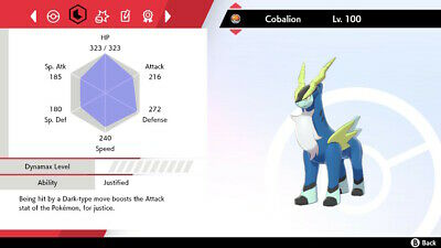 Shiny Cobalion 6IV UNRELEASED & LEGAL | Pokemon Sword and Shield