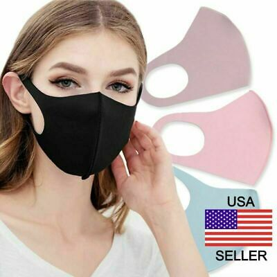 2 piece Washable Face Mask Cycling Anti Dust Mouth Face Mask Surgical Respirator