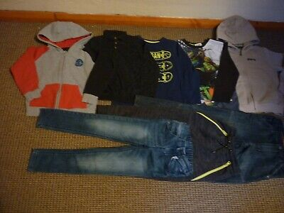 Bundle Boys Clothes age 6-7yrs Billabong Quiksilver Next Jeans Jogger Tops Hoodi