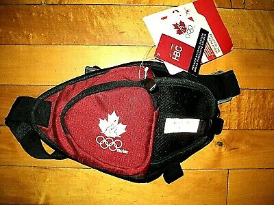 * CANADA OLYMPIC TEAM * NWT HBC Raised Embroidered Logo Fanny Bum Pack