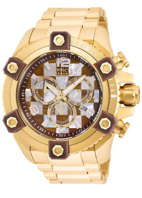 Invicta Reserve Grand Octane 27777 Men's 63mm Tiger Eye Swiss Chronograph Watch