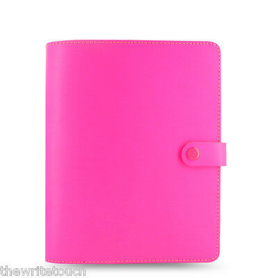 Filofax Original Organizer/Planner Fluoro Pink A5 - Made UK - Brand New - 022439