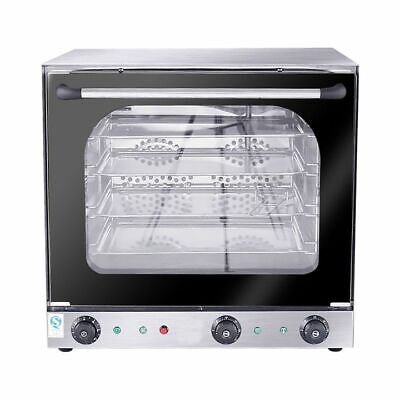 WOO 4-Tier Electric Oven with Spray Hot Blast Circulation System 220V Bake Stove